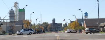 downtown Parker, SD